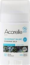 Perfumería y cosmética Desodorante stick balsámico con aceite de menta y enebro, sin alcohol y aluminio - Acorelle Deodorant Balm