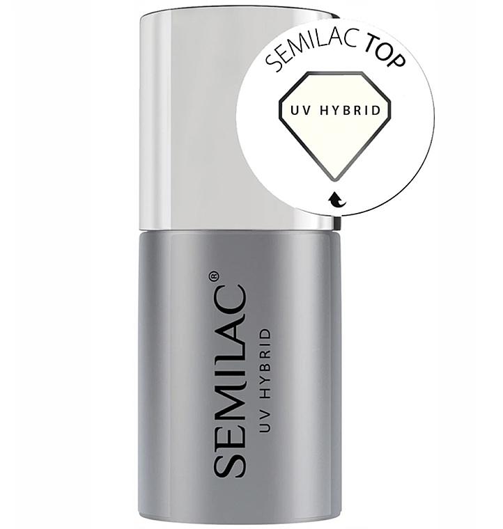 Esmalte para capa superior uñas de gel - Semilac UV Hybrid