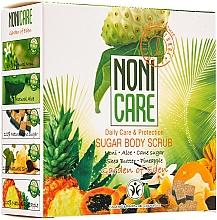 Perfumería y cosmética Exfoliante corporal de azúcar con extracto de piña y manteca de karité - Nonicare Garden Of Eden Sugar Body Scrub