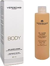Perfumería y cosmética Gel refrescante para pies con extracto de semilla de uva y mentol - Verdeoasi Lightweight Legs Gel Slimming Anti-Swelling Action