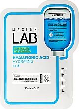 Mascarilla facial de tejido intensiva con ácido hialurónico - Tony Moly Master Lab Hyaluronic Acid Mask — imagen N1