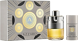 Perfumería y cosmética Azzaro Wanted - Set (edt/100ml + desodorante/75ml)