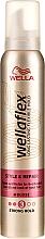 Perfumería y cosmética Mousse para cabello, fijación media - Wella Wellaflex
