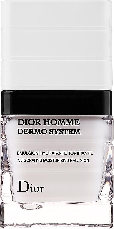 Emulsión facial vigorizante con ingredientes biofermentados y fosfato de vitamina E - Dior Homme Dermo System Emulsion  — imagen N1