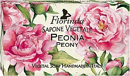 Perfumería y cosmética Jabón artesanal vegetal con aroma a peonía - Florinda Peony Natural Soap