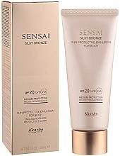 Perfumería y cosmética Emulsión corporal de protección solar con acabado de bronce sedoso - Kanebo Sensai Silky Bronze Sun Protective Emulsion For Body SPF 20