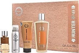 Perfumería y cosmética Armaf Hunter For Men - Set (eau de parfum/100ml + desodorante/50ml + gel de ducha/100ml + champú/250ml)