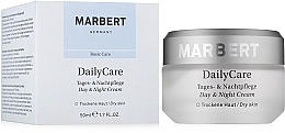 Perfumería y cosmética Crema facial con glicerina y vitamina A - Marbert Basic Care Daily Care