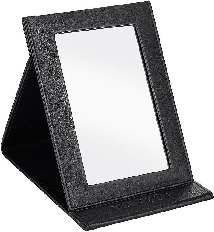 Espejo cosmético libreta, negro - MakeUp Tabletop Cosmetic Mirror Black