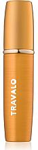 Perfumería y cosmética Atomizador recargable, vacío, color dorado - Travalo Lux Gold Refillable Spray