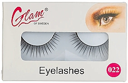 Perfumería y cosmética Pestañas postizas (sin pegamento) №022 - Glam Of Sweden Eyelashes