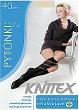 Perfumería y cosmética Mini medias relajantes, 40 Den, light beige - Knittex