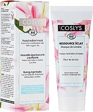 Perfumería y cosmética Mascarilla facial iluminadora con extracto de azucena - Coslys Facial Care Radiant Mask With Lily Extract