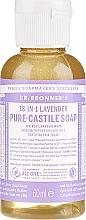 Perfumería y cosmética Jabón líquido de coco, oliva y jojoba con lavanda - Dr. Bronner's 18-in-1 Pure Castile Soap Lavender