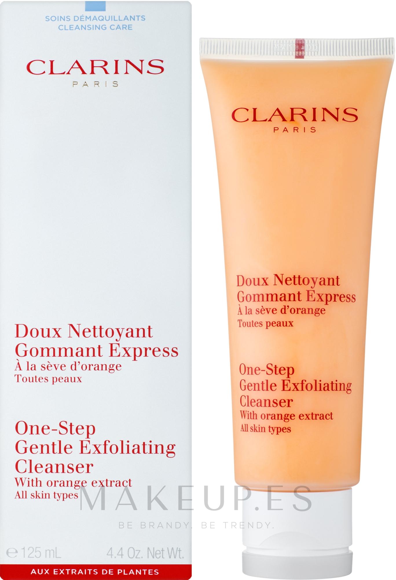 Exfoliante facial con extracto de naranja - Clarins One-Step Gentle Exfoliating Cleanser — imagen 125 ml