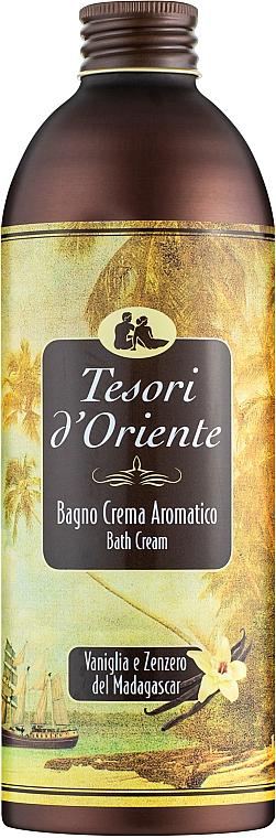 Tesori d`Oriente Vaniglia E Zenzero Del Madagascar - Crema de baño con aroma a vainilla