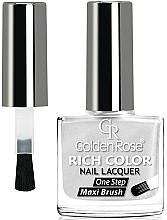 Perfumería y cosmética Esmalte de uñas con brocha gruesa - Golden Rose Rich Color