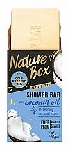 Perfumería y cosmética Jabón vegano con aceite de coco - Nature Box Coconut Oil Shower Bar
