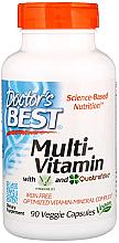 Perfumería y cosmética Complemento alimenticio en cápsulas multivitamínico Vitashine D3 y Quatrefolic - Doctor's Best