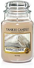 """Perfumería y cosmética Vela aromática en tarro """"cachemira caliente"""" - Yankee Candle Warm Cashmere"""
