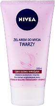 Perfumería y cosmética Gel crema facial limpiadora con aceite natural de almendra - Nivea Visage Cleansing Soft Cream Gel