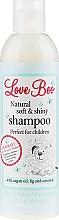 Perfumería y cosmética Champú infantil con aceite de argán y coco - Love Boo Natural Soft And Shiny