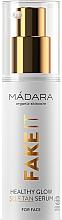 Perfumería y cosmética Sérum autobronceador facial eco con aceite de frambuesa, karité y ácido hialurónico - Madara Cosmetics Fake It Healthy Glow Self Tan Serum