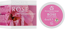 Perfumería y cosmética Crema facial 100% pura con aceite de rosa damascena - Bulgarian Rose Concrete (miniatura)