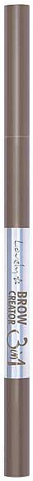 Lápiz de cejas - Lovely Brow Creator 3 in 1 Eyebrow Pencil