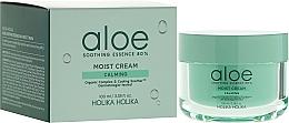 Perfumería y cosmética Crema facial hidratante con extracto de aloe vera - Holika Holika Aloe Soothing Essence 80% Moist Cream