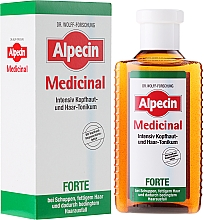 Perfumería y cosmética Tónico anticaída de cabello con ácido salicílico y mentol - Alpecin Medical Forte