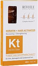 Perfumería y cosmética Ampollas restauradoras para cabello con queratina - Revuele Keratin+ Ampoules Hair Restoration Activator