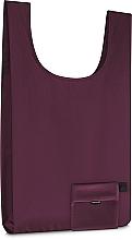 Perfumería y cosmética Bolso shopper compacto, borgoña (57x32cm) - MakeUp Smart Bag