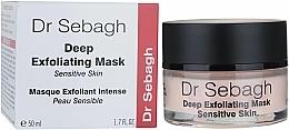 Perfumería y cosmética Mascarilla facial exfoliante para acelerar la renovación celular con ácido láctico - Dr Sebagh Deep Exfoliating Mask