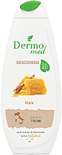 Perfumería y cosmética Espuma de baño con miel - Dermomed Bath Foam