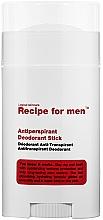 Perfumería y cosmética Desodorante stick antitranspirante - Recipe For Men Antiperspirant Deodorant Stick