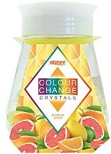 Perfumería y cosmética Ambientador perlas perfumadas con aroma cítrico - Airpure Colour Change Crystals Citrus Zing