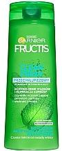 Perfumería y cosmética Champú anticaspa con extractos de menta & pepino - Garnier New Fructis Clean Fresh Shampoo