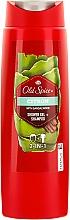 Perfumería y cosmética Gel de ducha perfumado - Old Spice Citron Shower Gel + + Shampoo
