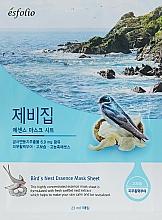 Perfumería y cosmética Mascarilla facial de tejido con extracto de nido de vencejo - Esfolio Bird's Nest Essence Mask Sheet