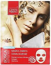 Perfumería y cosmética Mascarilla facial con baba de caracol - Czyste Piekno Bosca Snail Face Mask