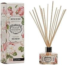 Perfumería y cosmética Ambientador Mikado con aroma a néctar de rosas - Panier Des Sens Rose Nectar Reed Diffuser