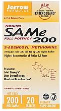 Perfumería y cosmética Complemento alimenticio en cápsulas de S-adenosil-L-metionina natural, 200 mg - Jarrow Formulas SAM-e 200 (S-Adenosyl-L-Methionine) 200 mg