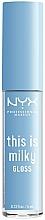 Perfumería y cosmética Brillo de labios - NYX Professional Makeup This Is Milky Gloss Lip Gloss