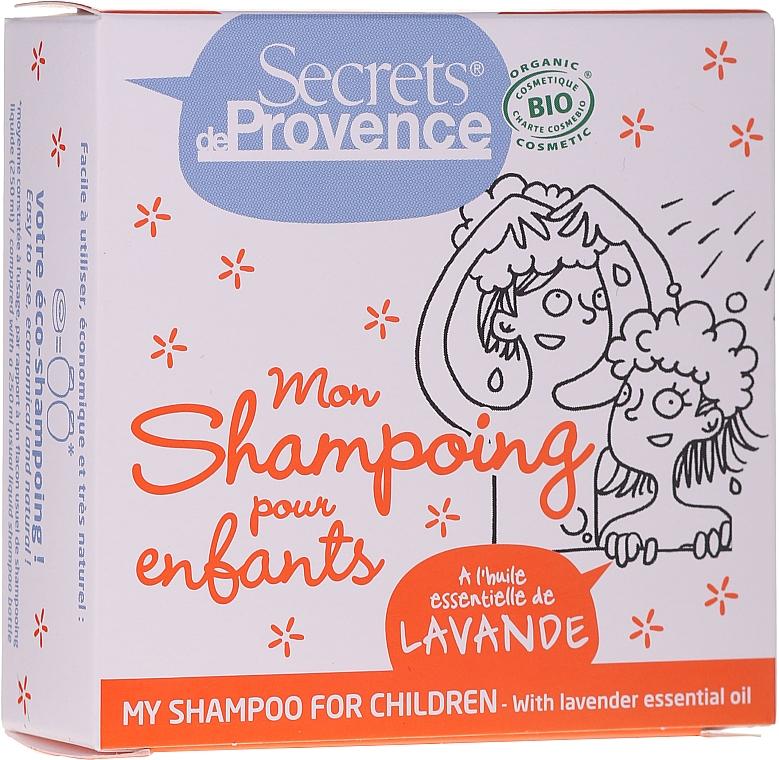 Champú sólido natural con aceite esencial de lavanda - Secrets De Provence My Children Shampoo Lavender Essential Oil