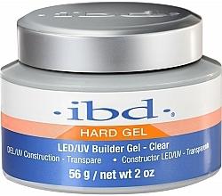 Perfumería y cosmética Gel constructor de uñas, transparente - IBD LED/UV Builder Clear Gel