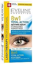 Perfumería y cosmética Sérum activador de crecimiento de pestañas, 8en1 - Eveline Cosmetics Eyelash Serum Total Action 8in1