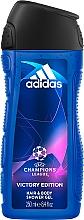 Perfumería y cosmética Adidas UEFA Champions League Victory Edition - Champú gel de ducha con mentol