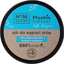 Perfumería y cosmética Sales para pies con aceite de menta - Pharma CF No.36 Plantis Therapy Foot Bath Salt