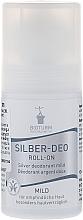 Perfumería y cosmética Desodorante roll-on antitranspirante - Bioturm Silver Mild Deo Roll-On No.38